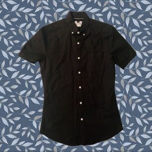 Brand new TOPMAN button up. Black size Small.